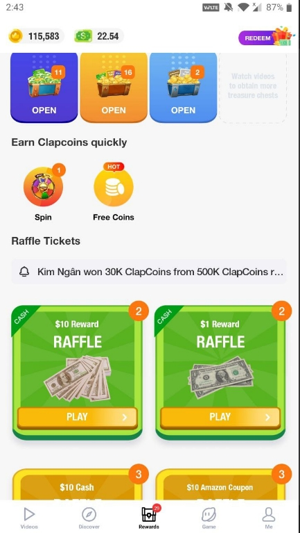 clipclaps redeem code may 2021